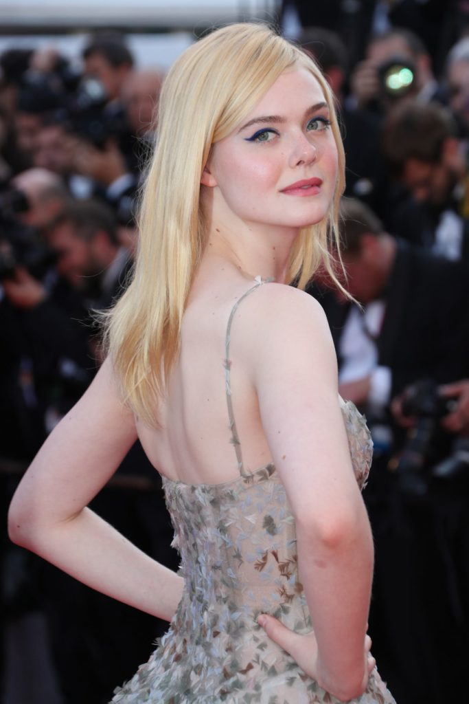 Elle Fanning Backless Wallpapers