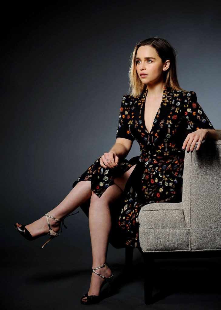 Emilia Clarke Feet Images