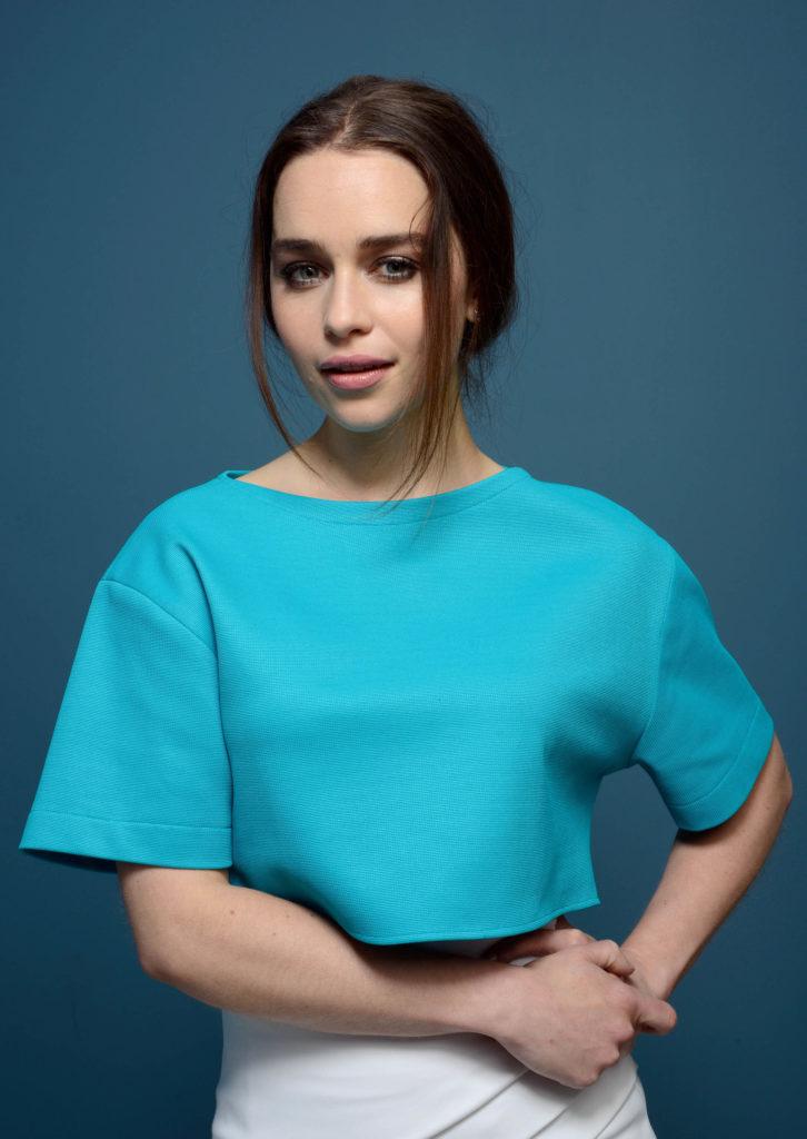 Emilia Clarke Hair Style Pics