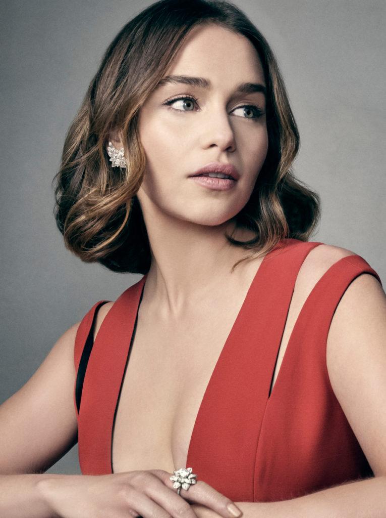 Emilia Clarke Lingerie Pics