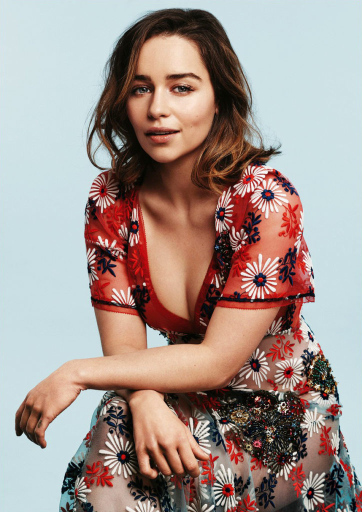 Emilia Clarke Short Hair Pics