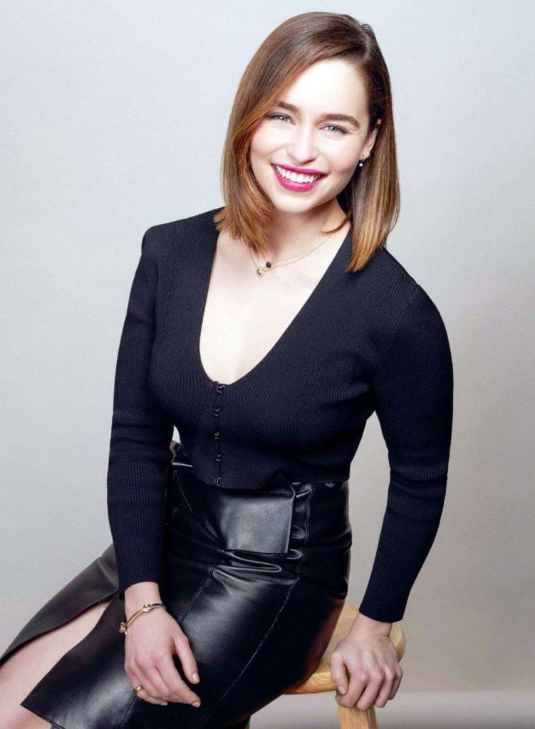 Emilia Clarke Short Hair Wallpapers