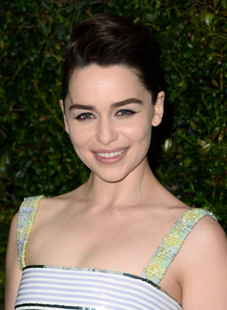 Emilia Clarke Topless Images
