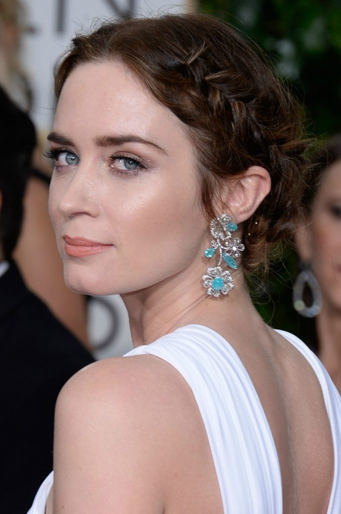 Emily Blunt Backless Pictures
