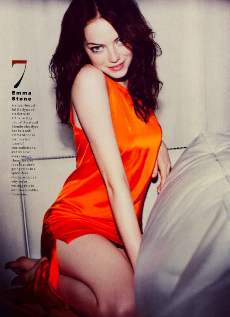 Emma Stone Thigh Pictures