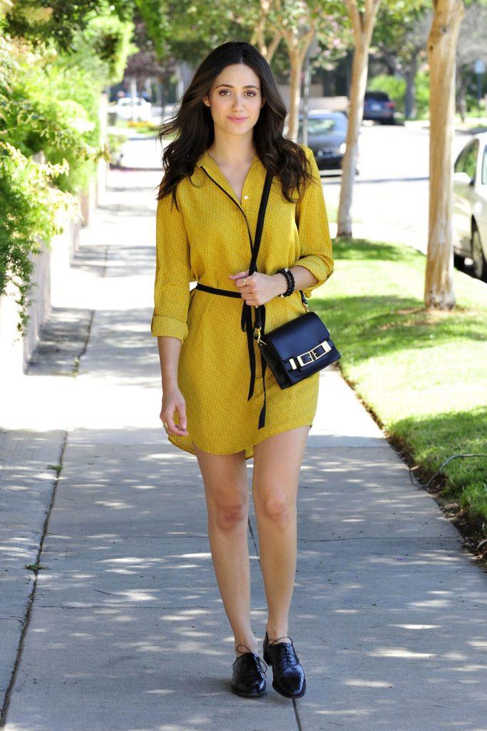 Emmy Rossum Thigh Pics