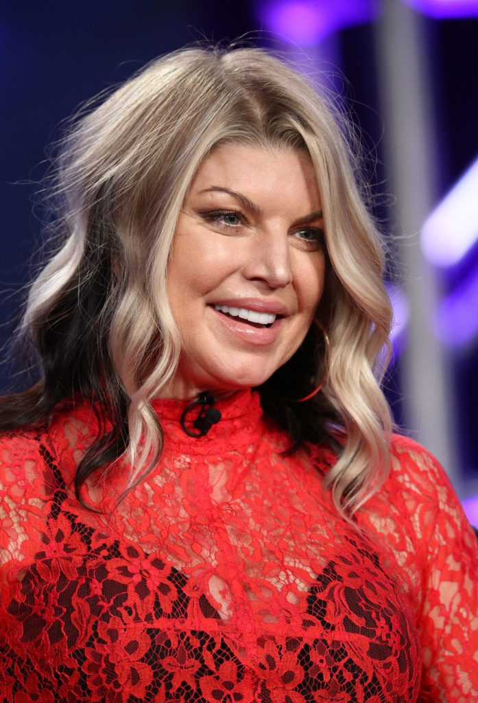 Fergie Short Hair Images