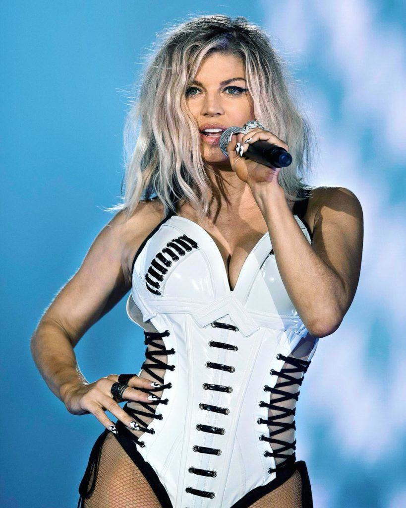Fergie Stage Performance Images