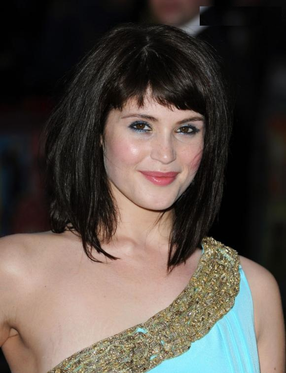 Gemma Arterton New Hair Style Pics