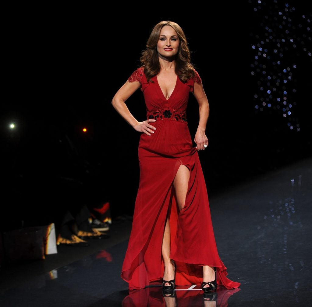 Giada De Laurentiis Rampwalk Photos