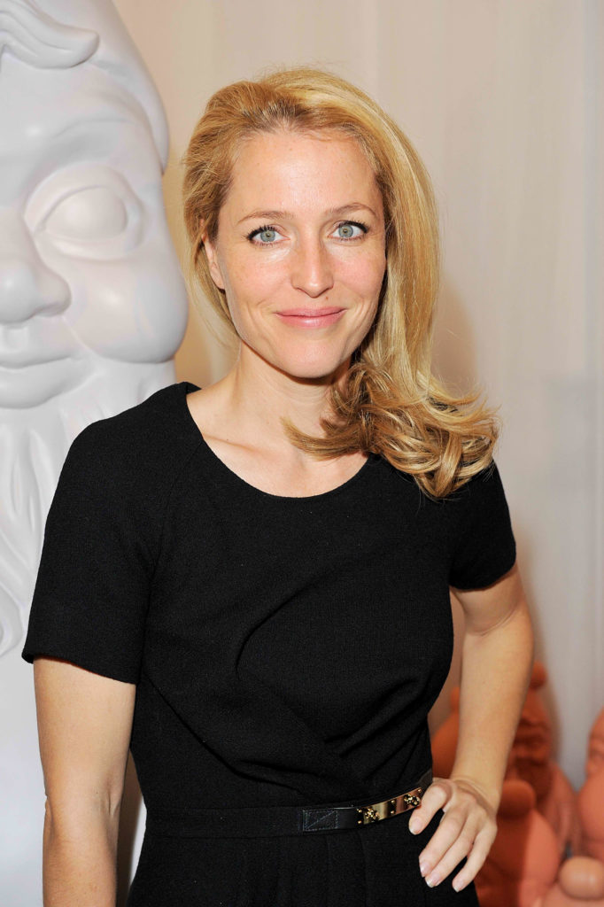 Gillian Anderson Blonde Hair Pics