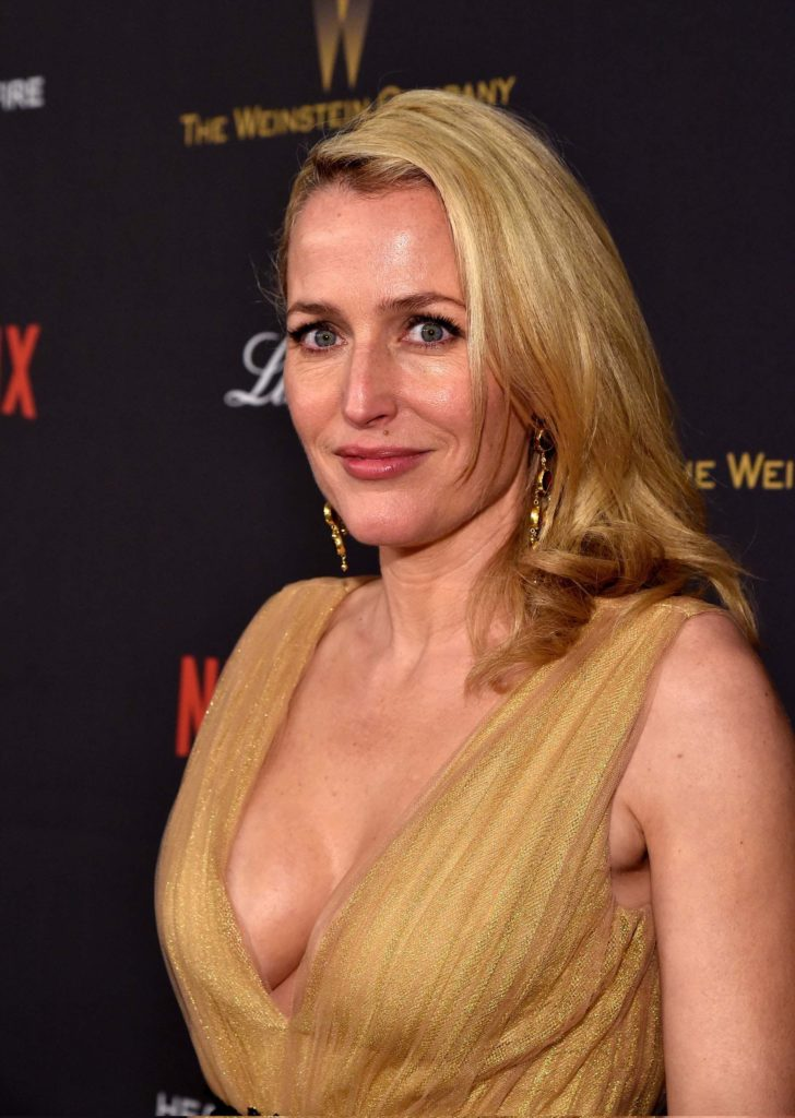 Gillian Anderson Boobs Pictures