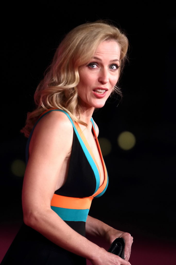 Gillian Anderson Braless Images