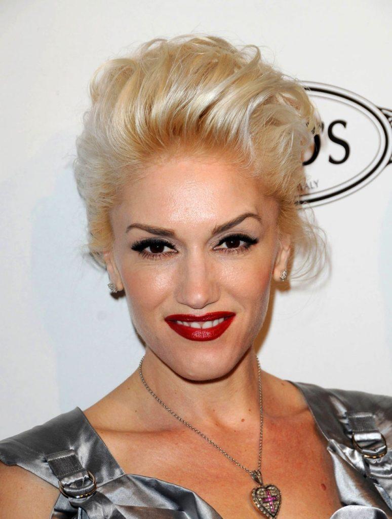 Gwen Stefani Hair Style Pics