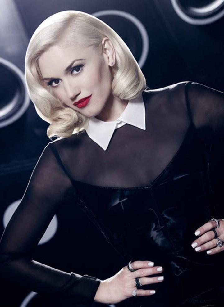 Gwen Stefani Short Hair Pics