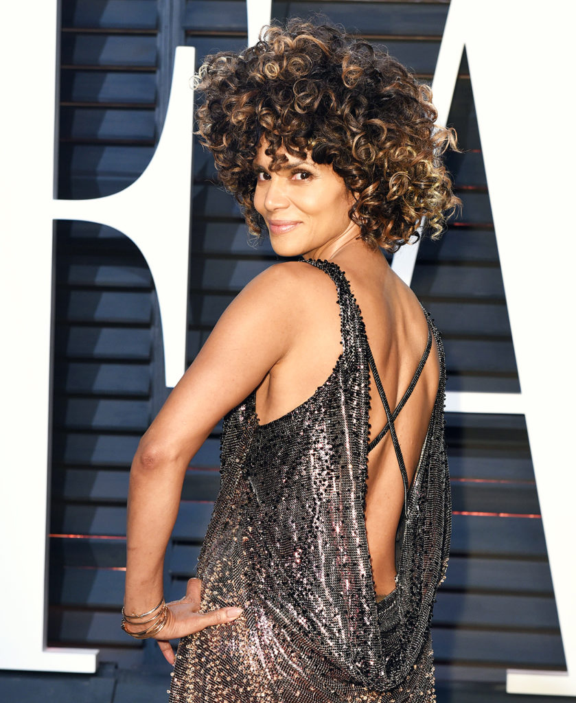Halle Berry Backless Photos