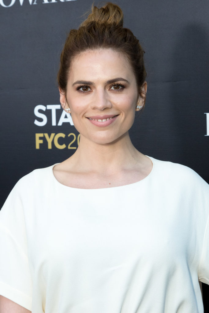 Hayley Atwell Bun Images