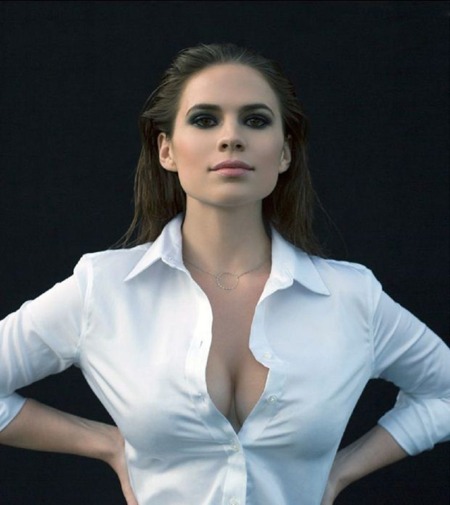 Hayley Atwell Lingerie Pics
