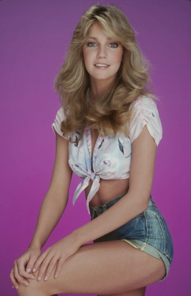 Heather Locklear Bra Panty Wallpapers