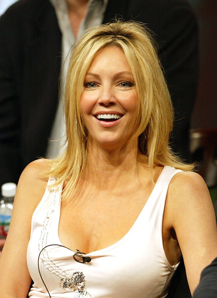 Heather Locklear Braless Photos