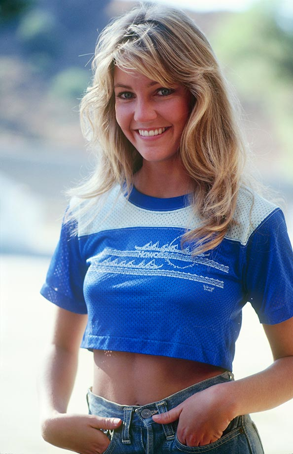 Heather Locklear Navel Photos