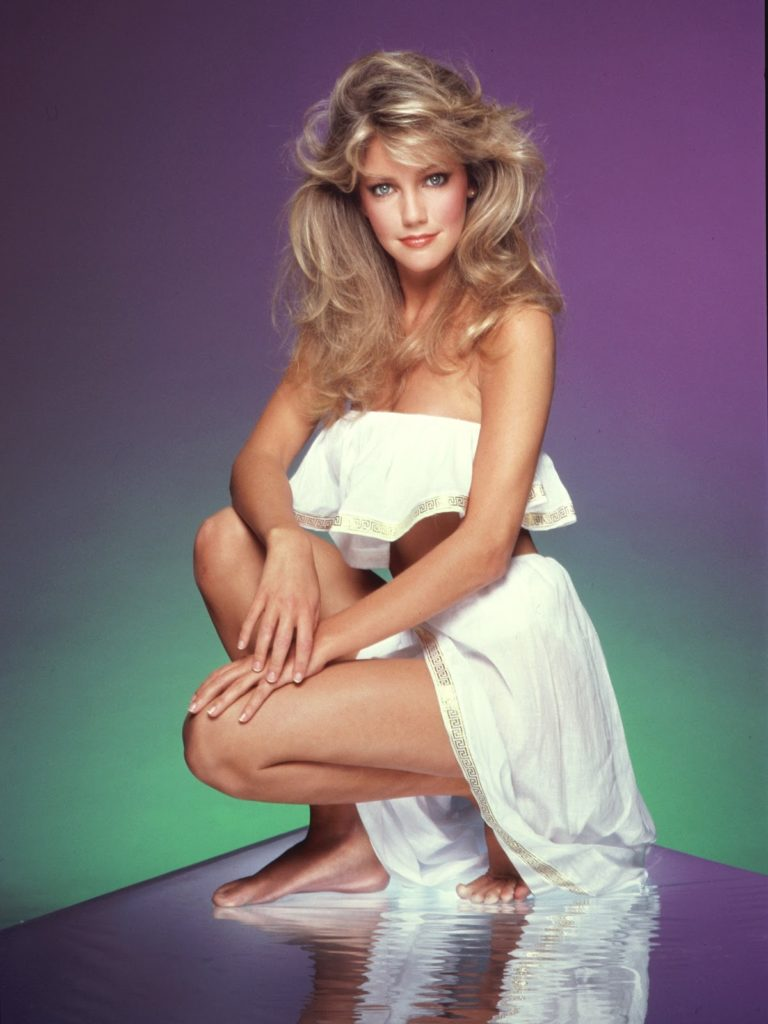 Heather Locklear Thigh Photos