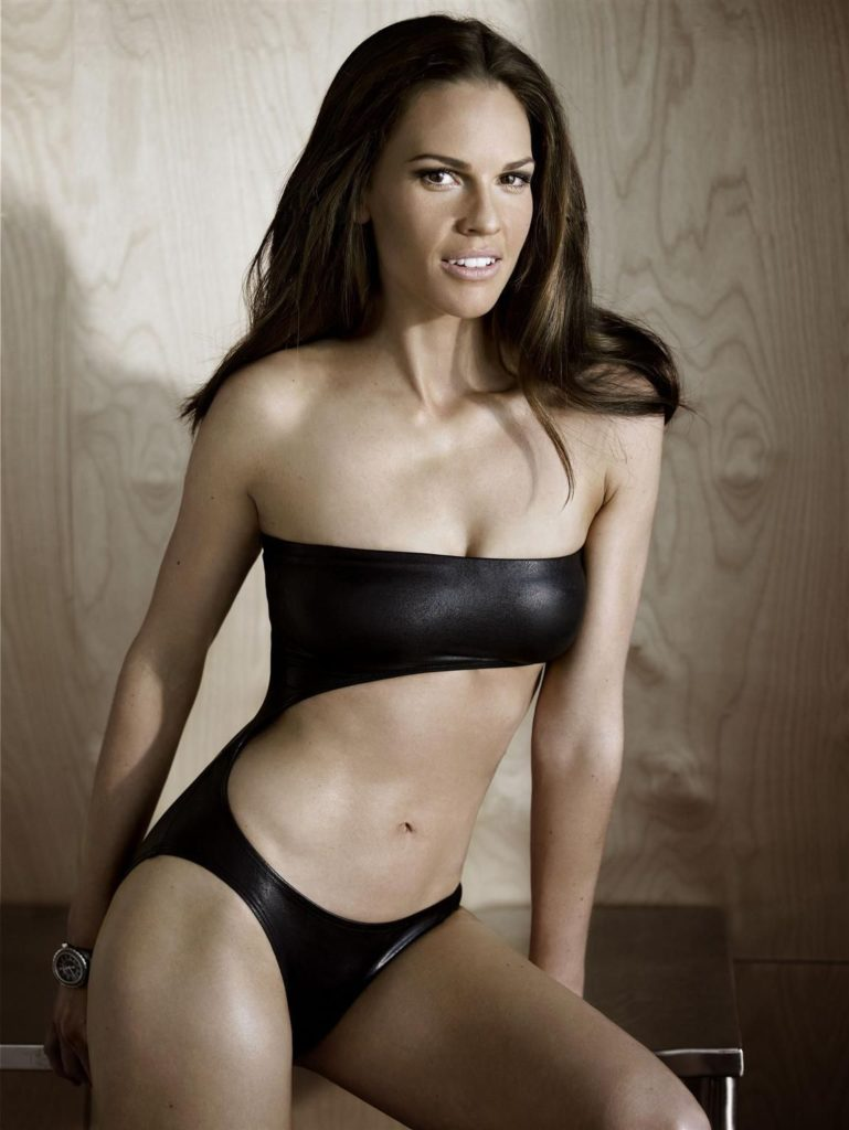 Hilary Swank Bra Bikini Images