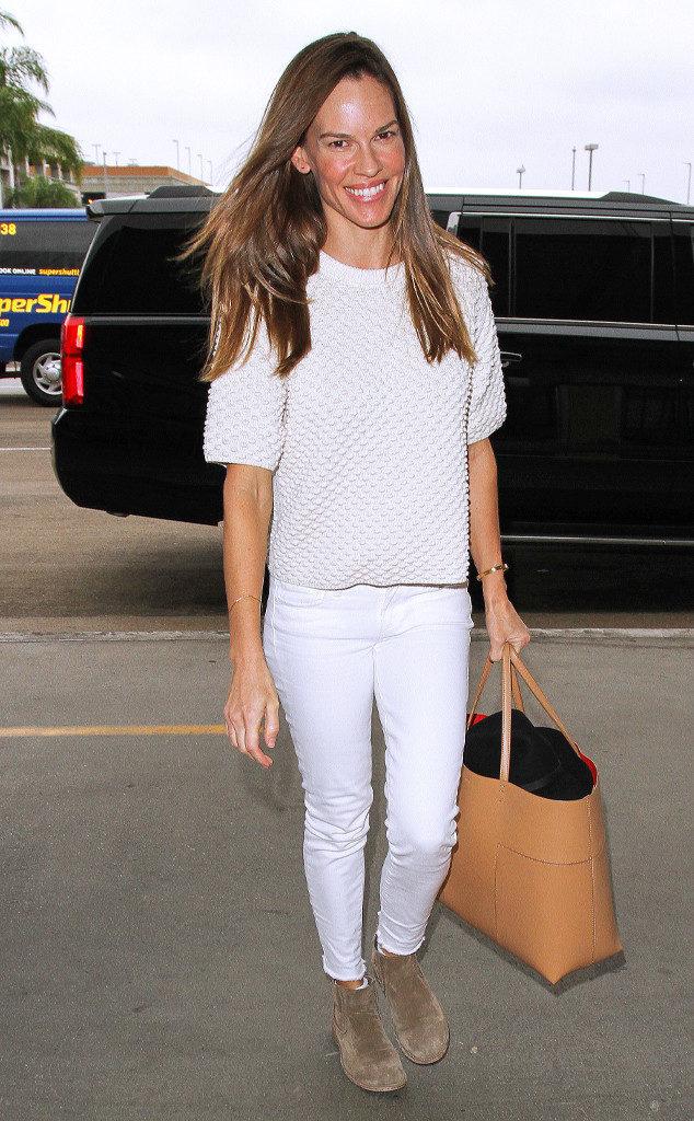 Hilary Swank Jeans Photos