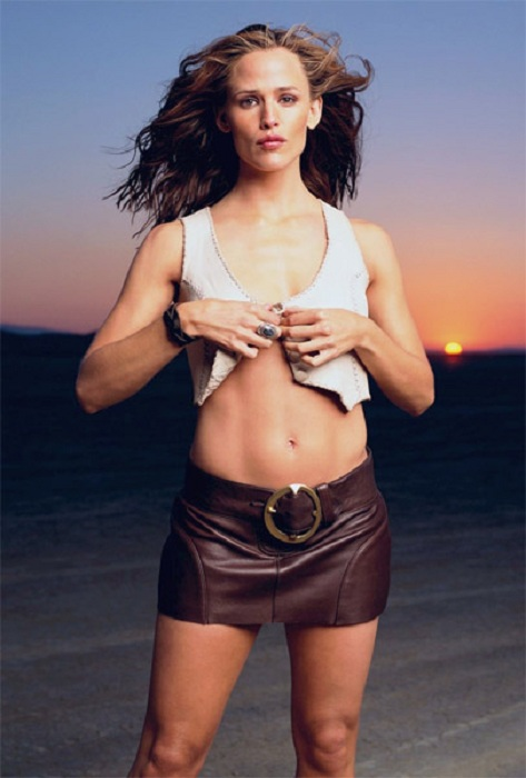 Jennifer Garner Bra Panty Photos