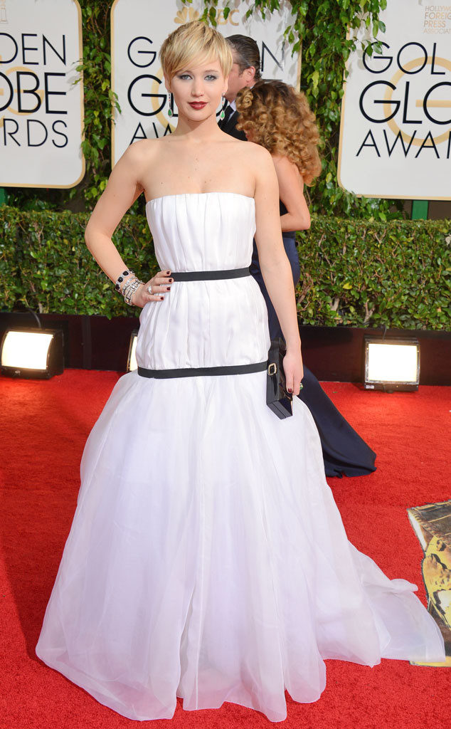 Jennifer Lawrence Gown Images