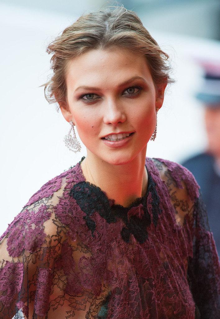 Karlie Kloss Smile Face Images