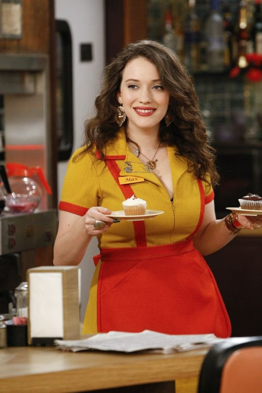 Kat Dennings Smile Wallpapers