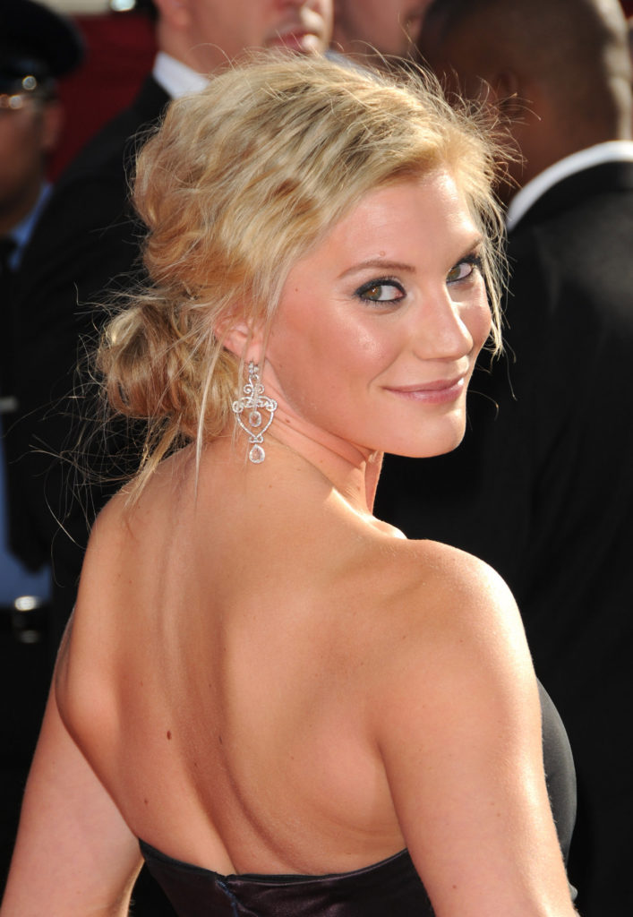 Katee Sackhoff Backless Pictures