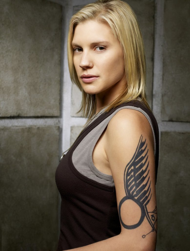 Katee Sackhoff Muscles Images