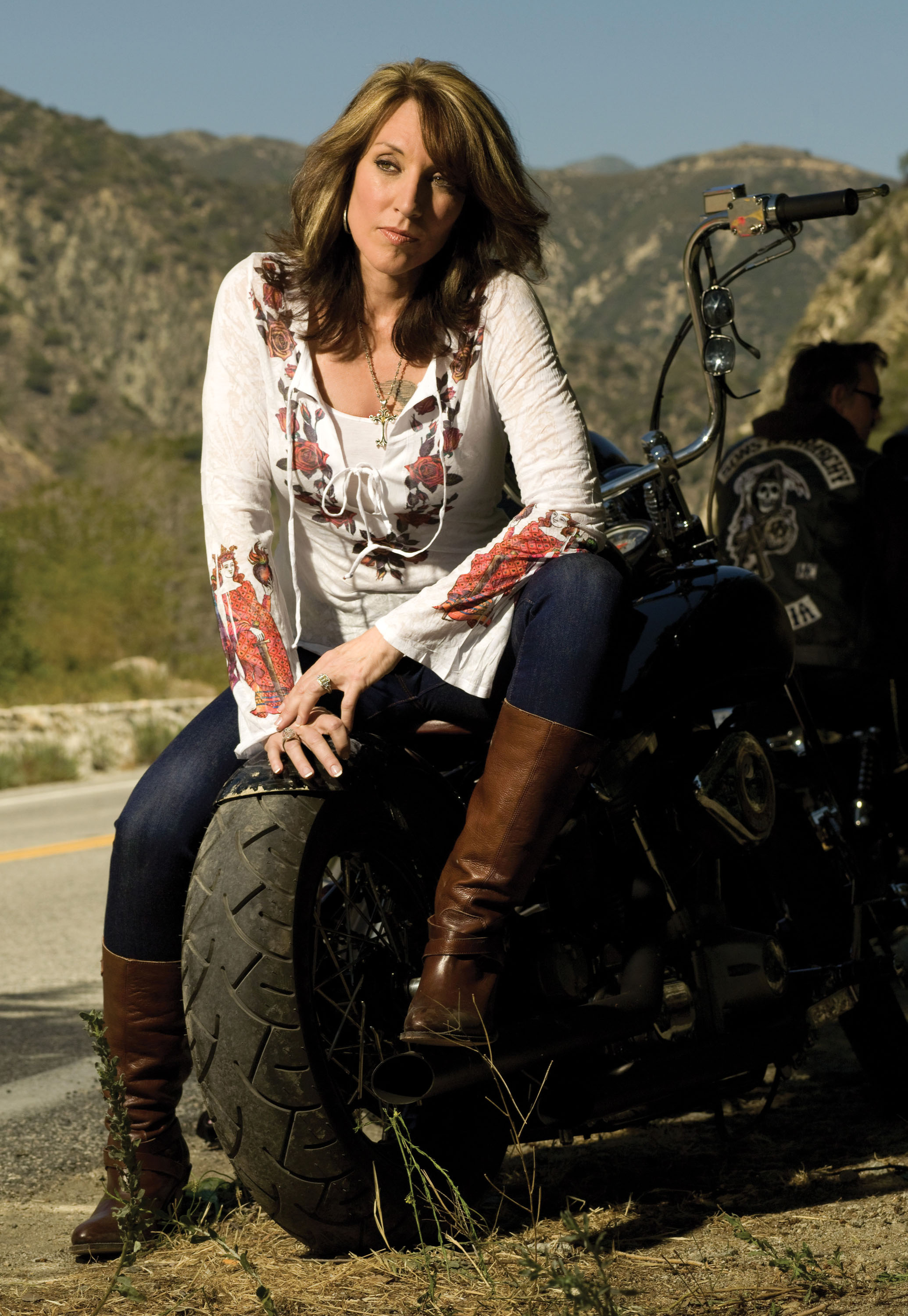 Katey Sagal Picture 27 - Screening of FX's Sons of Anarchy ... |Katey Sagal 1980