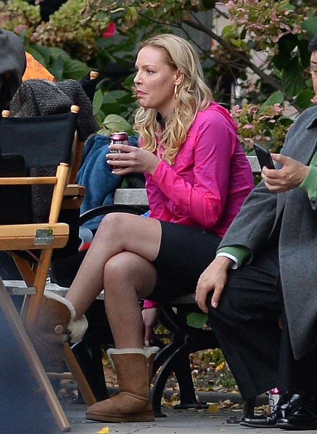 Katherine Heigl Thigh Photos