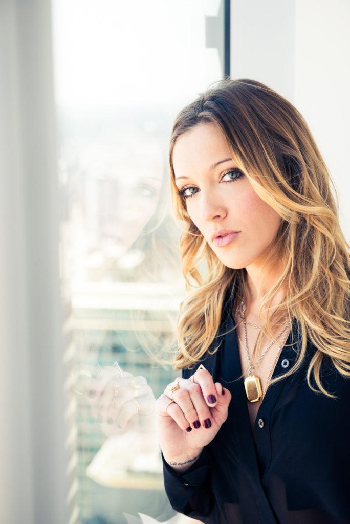 Katie Cassidy Makeup Images