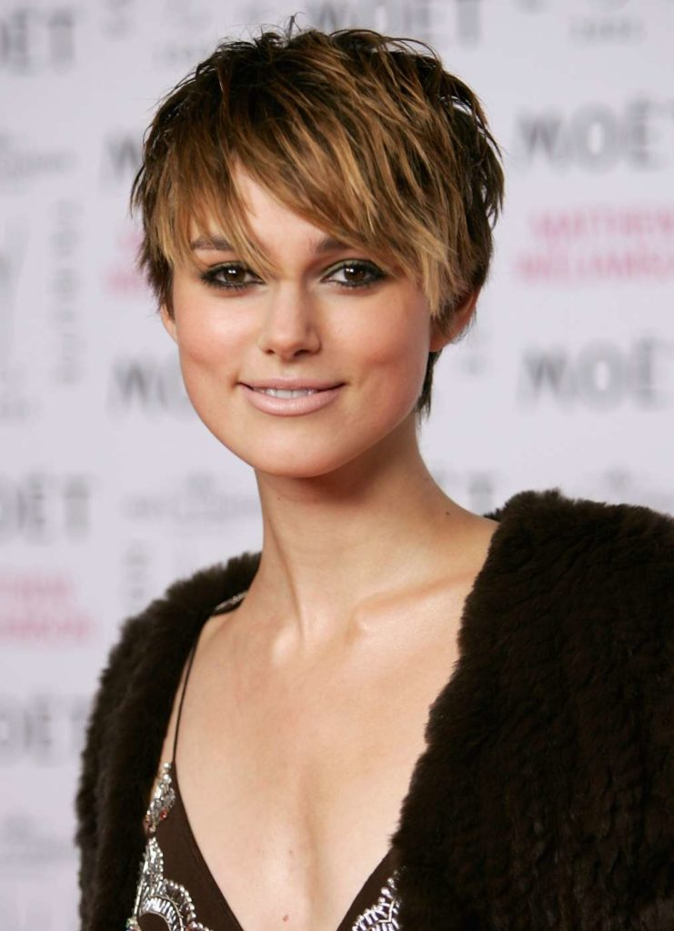 Keira Knightley Short Hair Wallpapers