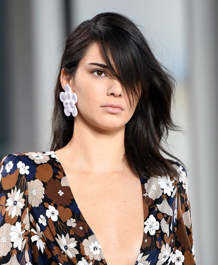 Kendall Jenner Braless Photos