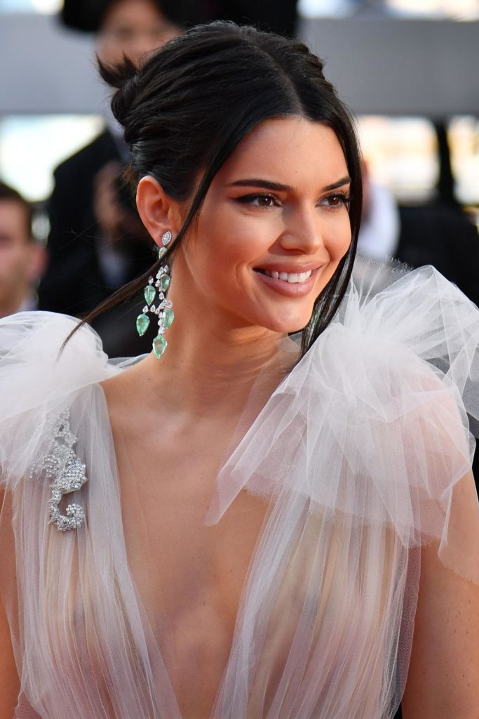 Kendall Jenner Braless Pictures