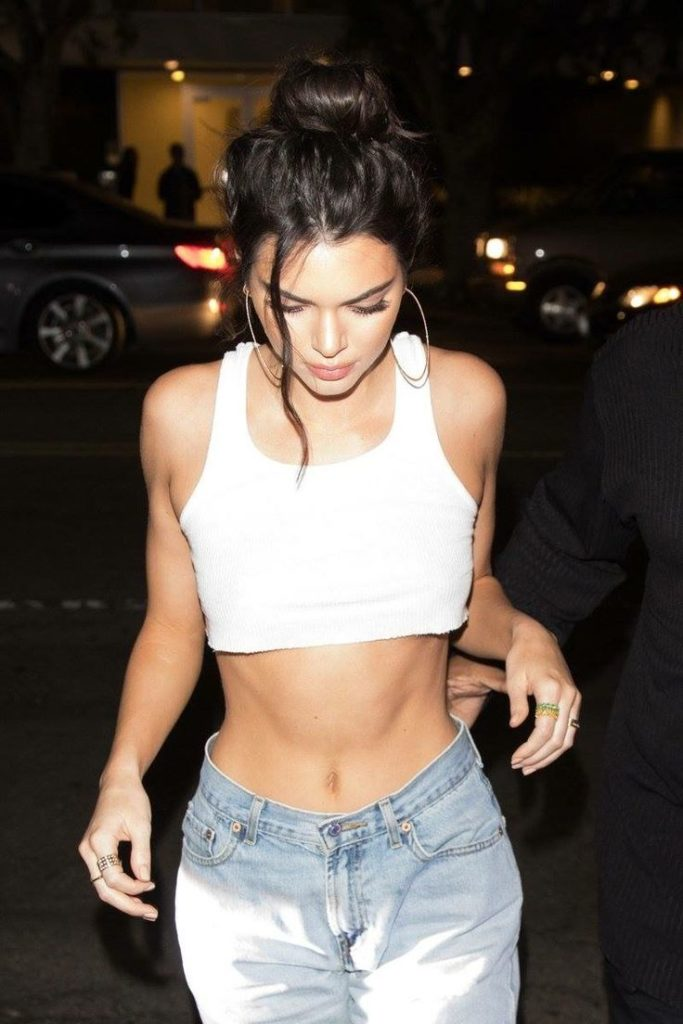 Kendall Jenner Navel Photos