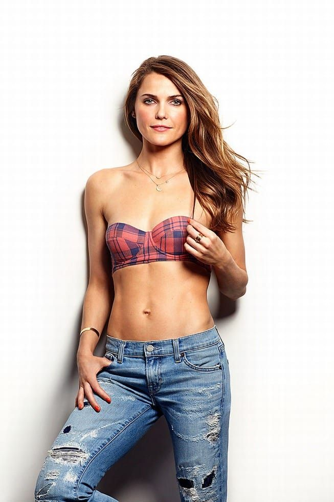 Keri Russell Bra Jeans Images