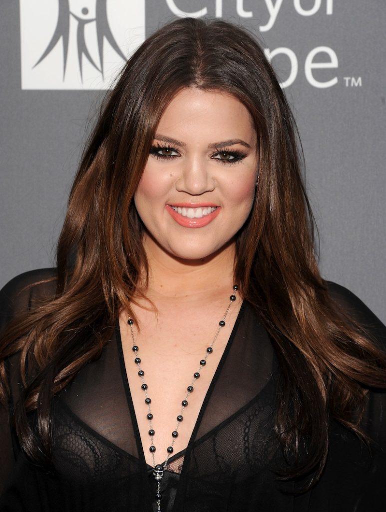Khloe Kardashian Hair Style Pics