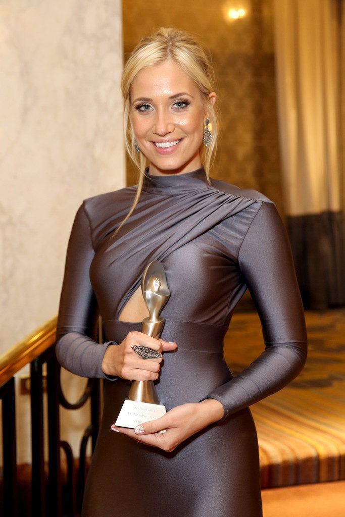 Kristine Leahy With Award Photos