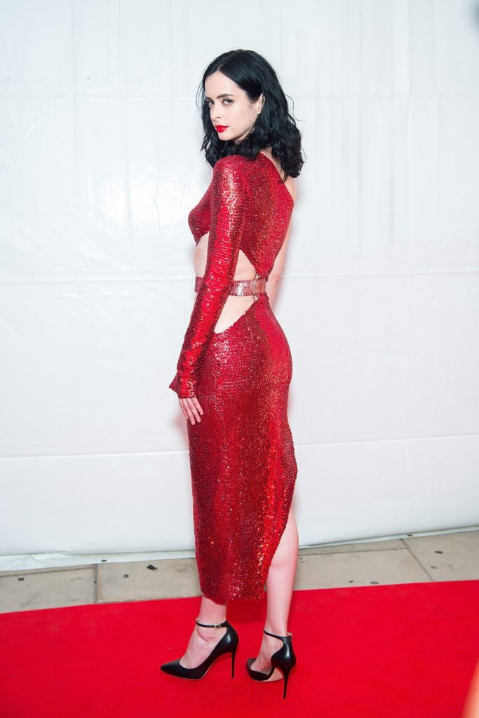 Krysten Ritter Backless Images