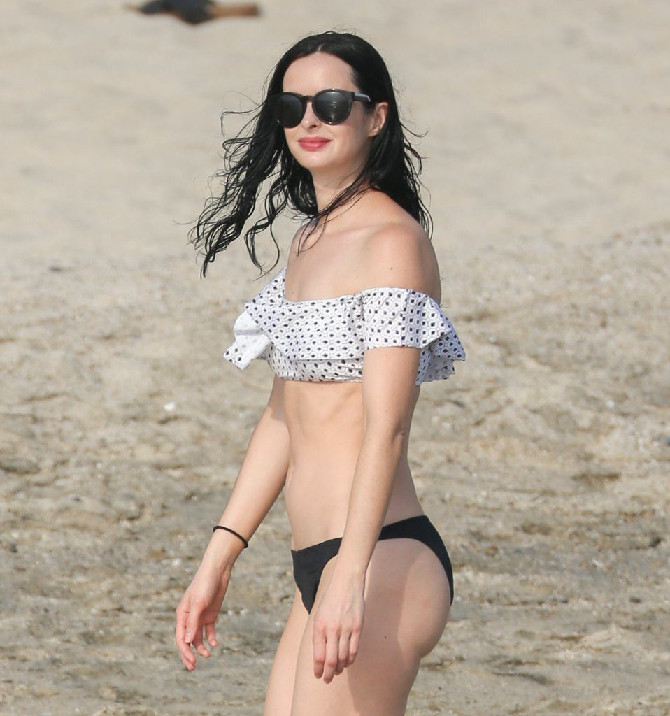Krysten Ritter Bikini Pictures At Beach