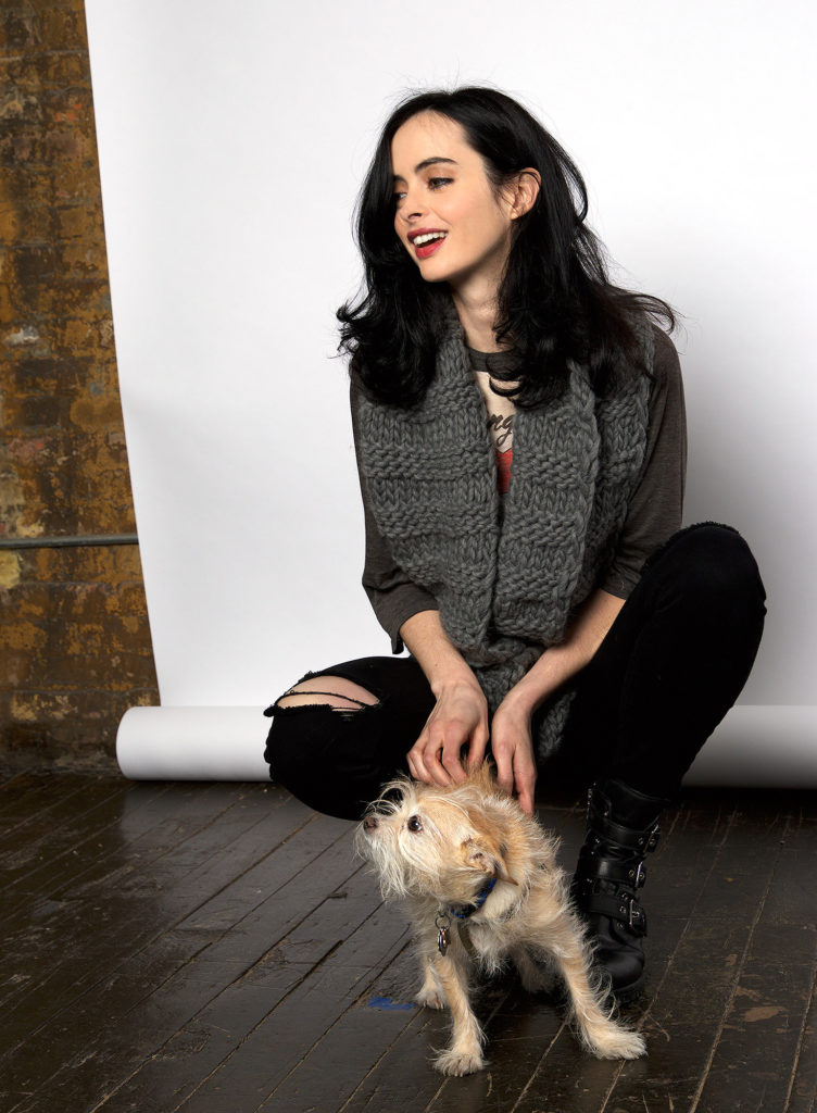Krysten Ritter With Puppy Images