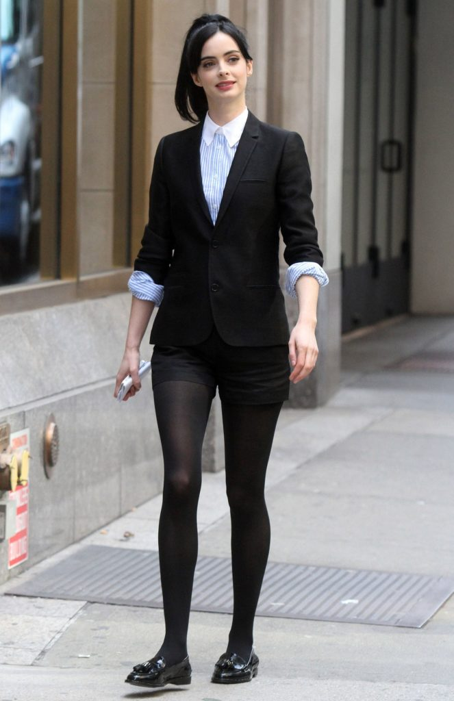 Krysten Ritter Yoga Pants Images