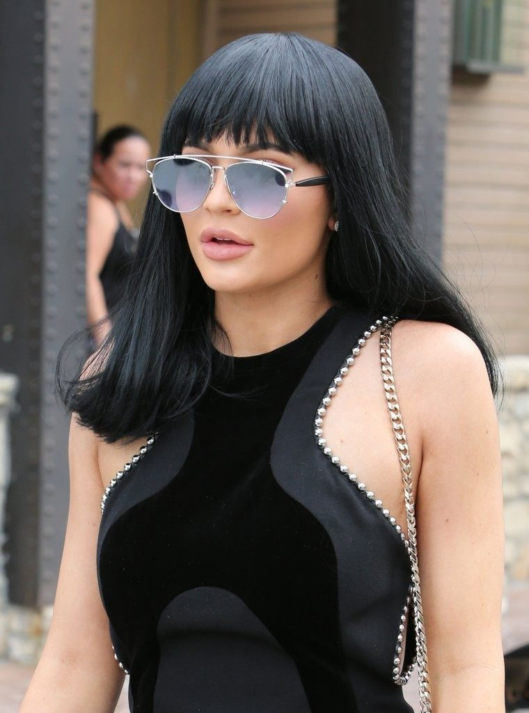 Kylie Jenner Short Hair Pictures