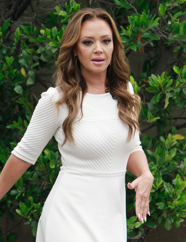 Leah Remini Oops Moment Photos